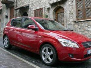 Kia Cee'd, maşina anului 2008 în România