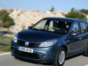Dacia 1 Sandero - Masina Anului 2009 in Romania