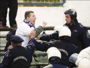 Jandarmii ar putea reveni pe stadioane în cel mai scurt timp