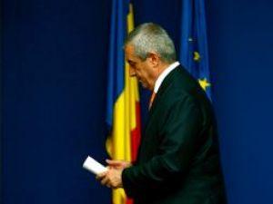 Şeful Guvernului a prezentat un plan pentru sprijinirea economiei. Foto: MEDIAFAX