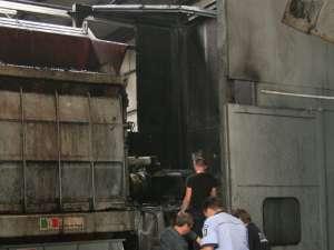 Aici a avut loc explozia urmată de incendiul care a ars trei muncitori