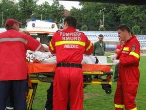 Doi dintre muncitorii arşi transportaţi la Bucureşti cu elicopterul, au decedat