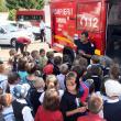 Numeroşi copii au fost prezenţi la Ziua Pompierilor