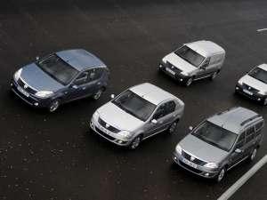 Dacia a fabricat 1.500.000 de vehicule pe platforma Logan