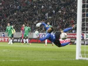 Steaua a marcat de patru ori pentru prima victorie românească pe Arena Naţională