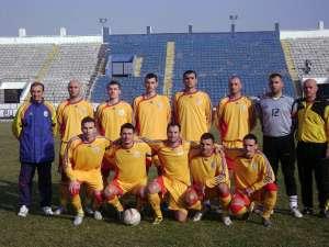 Ionesi (primul din dreapta jos) a fost om de bază pentru naţionala României