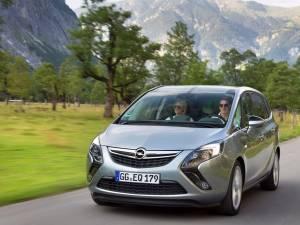 Opel Zafira 1.6 CDTI are cel mai mic consum din segmentul MPV