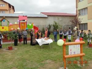 Spaţiu nou de joacă inaugurat la Centrul Şcolar de Educaţie Incluzivă Suceava
