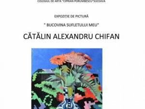 Artistul plastic Cătălin Alexandru Chifan va expune marţi la Centrul pentru Susţinerea Tradiţiilor Bucovinene