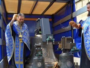 Clopote noi la Mănăstirea Dragomirna