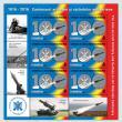 Emisiune de mărci poștale dedicată centenarului Artileriei și Rachetelor Antiaeriene