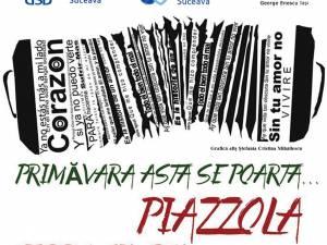 """Tribut pentru compozitorul argentinian Astor Piazzola, adus de """"Tierra Sin Pan"""", pe scena USV"""