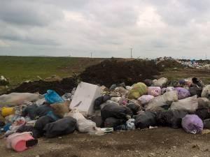 Aşa arată groapa ilegală de gunoi de la Bosanci