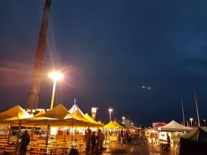 Concertele de vineri seara de la Zilele Sucevei, anulate din cauza furtunii