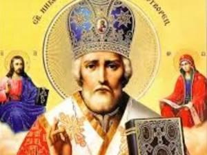 Astăzi este sărbătoarea Sfântului Nicolae