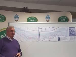 Planuri de realizare a unei zone de agrement pe malul râului Suceava
