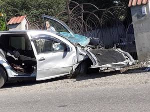 Un tânăr şi-a pierdut viaţa în urma unui accident care s-a petrecut la Vicovu de Jos. Foto: Abel Schipor, Atenţie Poliţia!