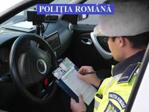 Nouă permise reținute și aproape 100 de amenzi aplicate de polițiștii rutieri în zona Rădăuţi