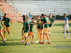 Forestierii spera să aibă motive de bucurie după partida cu Sporting Juniorul Vaslui. Foto Costi Solovăstru