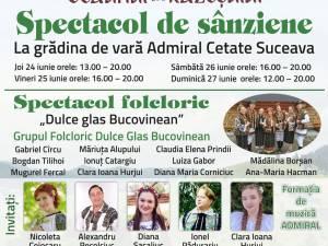 Spectacol de Sânziene și Concurs Miss Sânziana, la grădina de vară Admiral Cetate