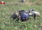 Motociclist cu fracturi cumplite după ce a fost lovit de o maşină aflată în depăşire