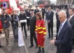 """Ambulanţa SMURD tip C, """"un spital ambulant de terapie intensivă"""", inaugurată după aproape un an în care a stat pe tuşă"""