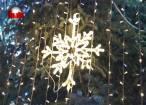 Peste 200.000 de beculeţe ornamentale aprinse în Suceava, odată cu luminile din bradul din Centru