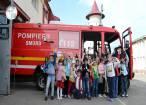 """Lecţii de curaj de la pompieri, pentru copiii aflaţi în săptămâna """"Şcoala altfel"""""""