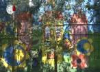 """O pictură murală uriașă a înfrumusețat grădina Colegiului """"Petru Rareș"""""""